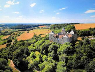 Château Malbrouk, Luftbild © Nicolas Jolivalt / Malbrouck