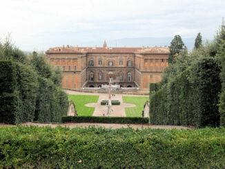 Palazzo Pitti & Boboli Gardens - Blick auf das Schloss