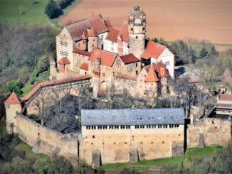 Burg von oben © Burg Ronneburg