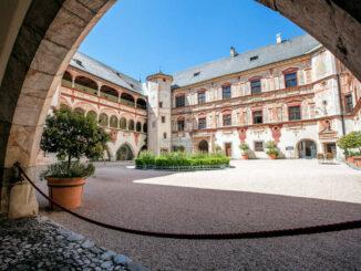 Innenhof © Schloss Tratzberg