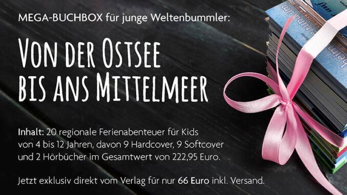 Bücherpaket für die Sommerferien, Verlag Biber & Butzemann