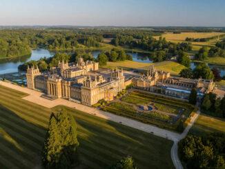 Luftbild © Blenheim Palace