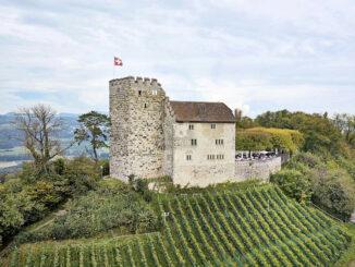 Seitenansicht © Schloss Habsburg