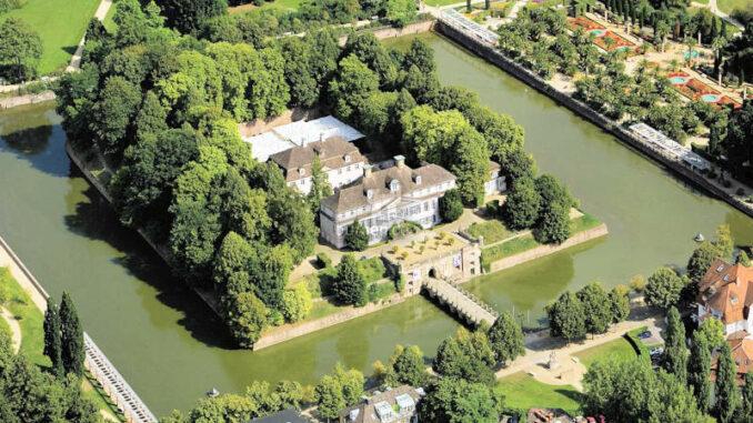 Schloss-Pyrmont_Luftbild