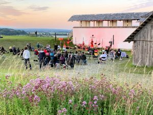 Celtic-Folk-Rock-Band Cúl na Mara - Konzert auf der Heuneburg © Joachim Moll/SSGBW
