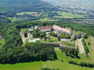 Hohenzollernfestung Wülzburg - Luftbild © Stadt Weißenburg