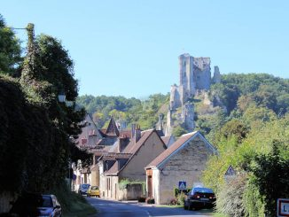 Château de Lavardin - Traumhafte Ruine über dem Ort