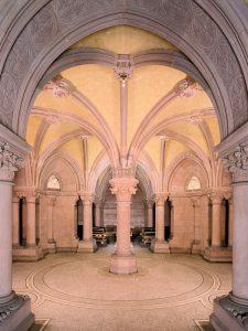 Blick in die Gruft - Großherzogliche Grabkapelle Karlsruhe © Staatliche Schlösser und Gärten Baden-Württemberg