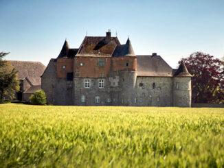 Schloss im Kornfeld © F. Blaise / Château du Fosteau