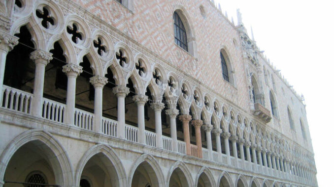 Palazzo-Ducale-Venedig_Fassadendetails-Vorderseite