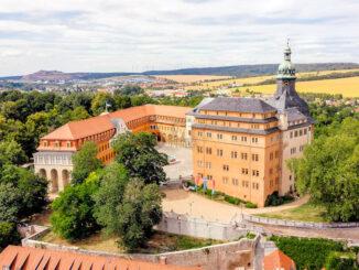 Blick von oben © Schloss Sondershausen