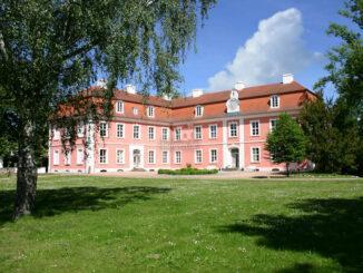 Schloss-Museum Wolfshagen, Blick aus dem Park © B. v. Barsewisch