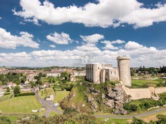 Panoramablick - Château Guillaume-le-Conquérant © Jacky Hervieux
