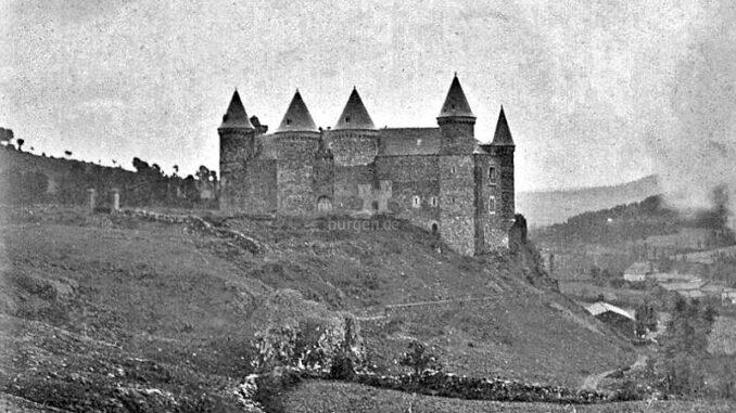 Chateau-de-Sailhant_Historische-Aufnahme-von-1890