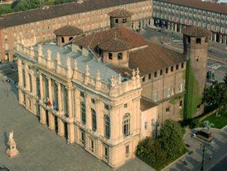 Palazzo Madama, Turin - Blick aus der Luft © Fondazione Torino Musei