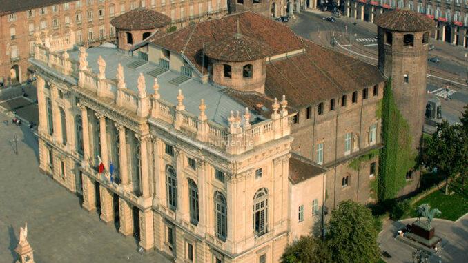 Palazzo-Madama-Turin_Blick-aus-der-Luft